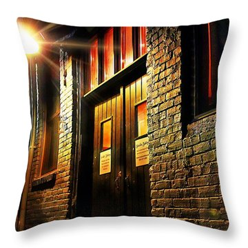 Throw Pillow featuring the photograph Quiet Zone by Jessica Brawley