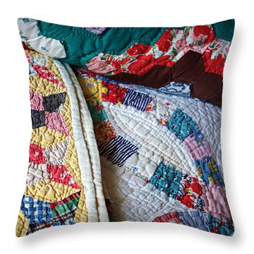 Quilted Comfort Throw Pillow