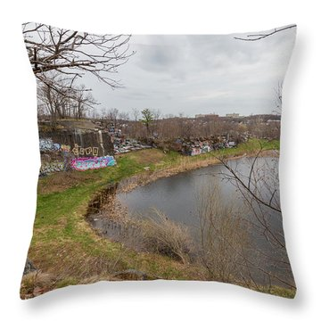 Quincy Quarries 3 Throw Pillow
