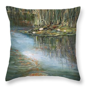 Quintessence Throw Pillow