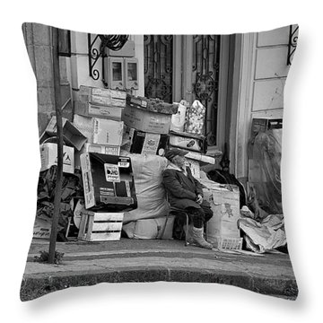 Quito  Throw Pillow
