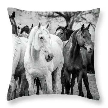 Quittin Time Throw Pillow