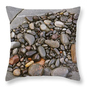 Quoddy Head Pebble Pocket Throw Pillow