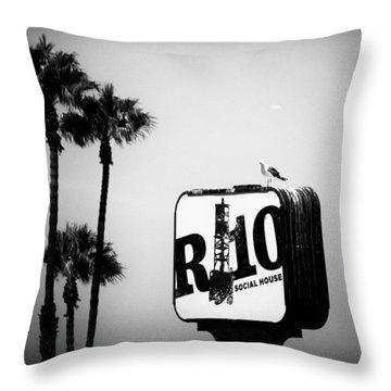 R-10 Social House Throw Pillow