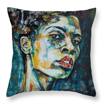 R E S P E C T Throw Pillow