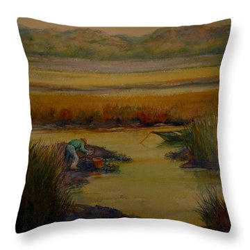 R Month Throw Pillow