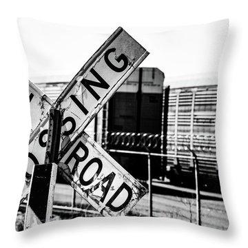 R/R Throw Pillow