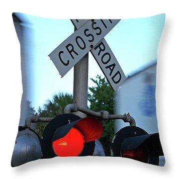 R R X Throw Pillow