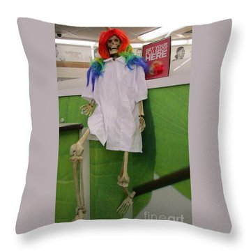 R U Ready For Your Shot Throw Pillow