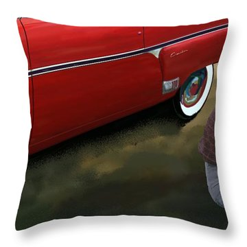 R2 St. Palmdale Throw Pillow