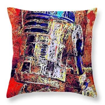 R2 - D2 Throw Pillow