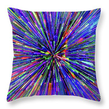 Throw Pillow featuring the photograph Rabbit Hole by Tony Beck
