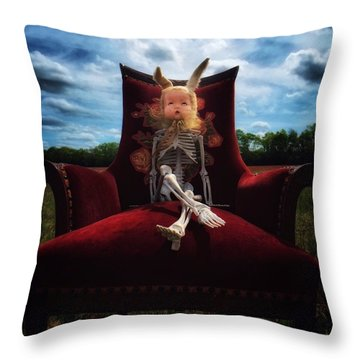 Wonder Land Throw Pillow