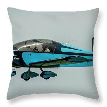 Race 100 Vic Vicari Throw Pillow