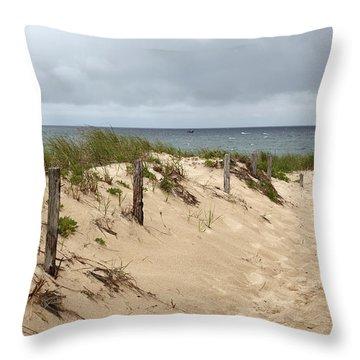 Race Point Beach Provincetown Massachusetts Throw Pillow
