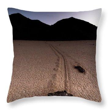 Racetrack Throw Pillow