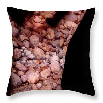 Rachel Throw Pillow by Arla Patch