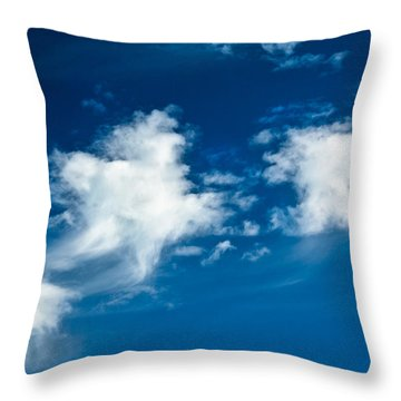 Racing Star Throw Pillow by Christopher Holmes