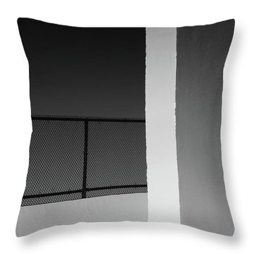 Throw Pillow featuring the photograph Racquetball Court II  by Richard Rizzo