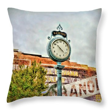 Radford Virginia - Time For A Visit Throw Pillow
