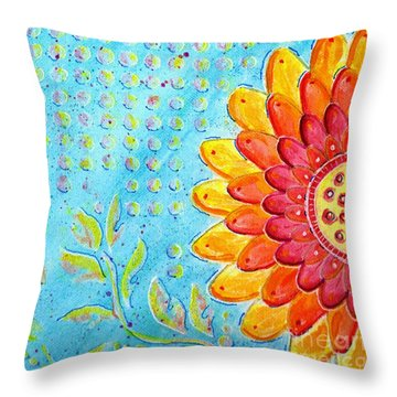 Radiance Of Christina Throw Pillow