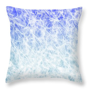 Radiant Days Throw Pillow by Trilby Cole