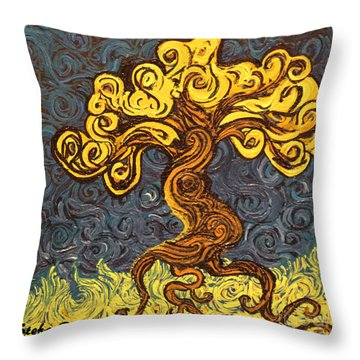 Radiant Within Throw Pillow