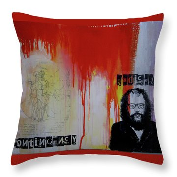 Radical Contingency Throw Pillow by James Gallagher