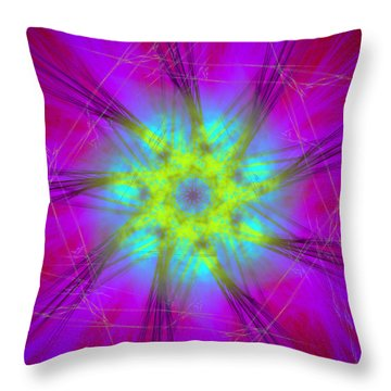 Radicanism Throw Pillow
