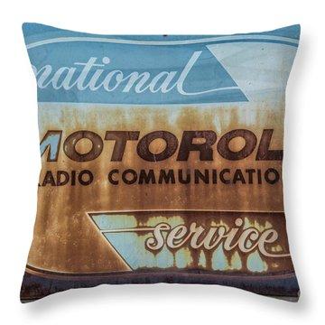 Radio Communications Throw Pillow