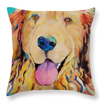 Radley Throw Pillow by Pat Saunders-White