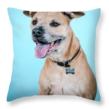 Banksy_4043 Throw Pillow