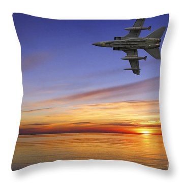 Raf Tornado Gr4 Throw Pillow