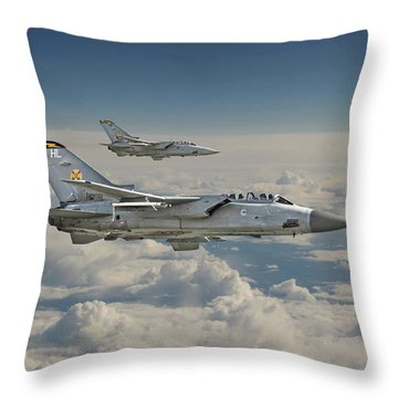 Raf Tornado Throw Pillow