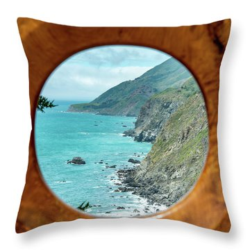Ragged Point Throw Pillow
