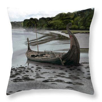 Ragnar's Epitaph Throw Pillow