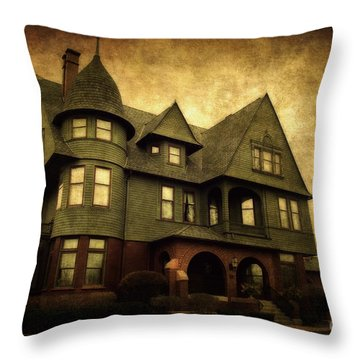 Rahr-west Art Museum Throw Pillow by Joel Witmeyer