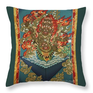 Rahula Throw Pillow