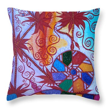Raido, Rhytm , Dance Throw Pillow