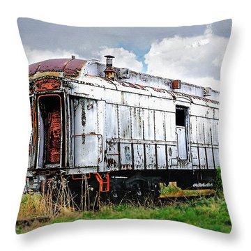Rail Car Throw Pillow