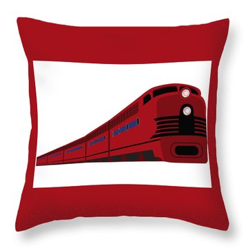 Rail Throw Pillow by Now