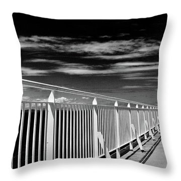 Railing Throw Pillow
