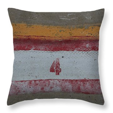 Railroad Art Throw Pillow