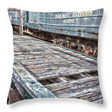 Railroad5 Throw Pillow