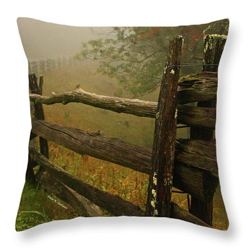 Rails Of Time Throw Pillow