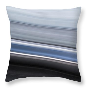 Throw Pillow featuring the photograph Railway Lines by John Williams