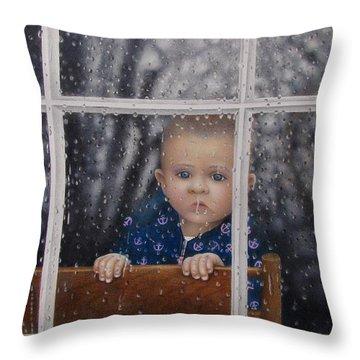 Rain Check Throw Pillow