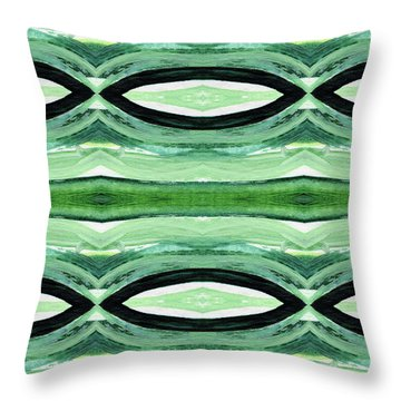 Rain Forest- Art By Linda Woods Throw Pillow