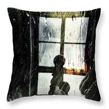 Rain In My Heart Throw Pillow