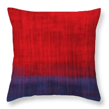 Rain On A Hot Day Throw Pillow